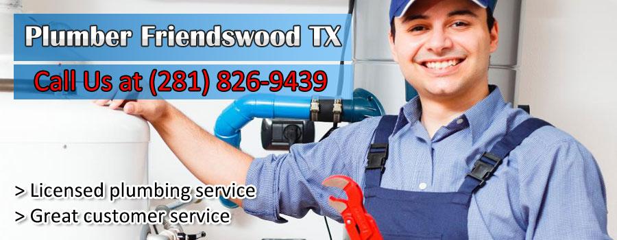 Plumber Friendswood TX Banner