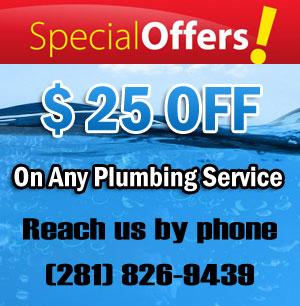 Plumber Friendswood TX Coupon